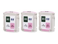 Ink cartridge n°85 light magenta 3-pack, 69ml (C9435A)