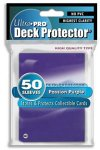 DECK PROTECTORS - FOUR PACKS (200 SLEEVES) STANDARD ULTRA PRO PURPLE