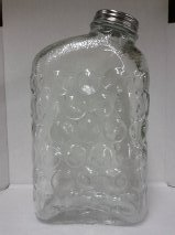 Bubble Glass Refrigerator Pitcher 8 in X 5 In