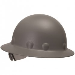 Fibre-Metal by Honeywell P1ARW09A000 Roughneck Full Brim Hard Hat with Strip-Proof and Crack-Proof Ratchet Headgear, Gray (Hard Hat Honeywell compare prices)