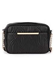 Per Una Wave Quilted Shoulder Bag