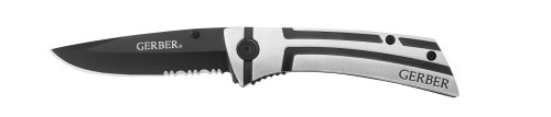 Gerber 22-41019 Traverse Serrated Edge Clip Folder Knife front-955216