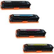 HP Color Laserjet CP5225 Lot Complet de Toners Compatibles de première qualité