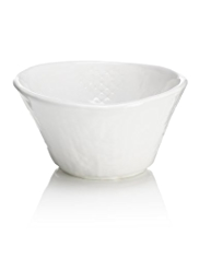 Cross Stitch Ceramic Bowl
