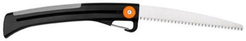 Fiskars 9258 10-Inch Power Tooth Sliding Pruning Saw with Carabiner Clip