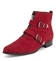 Limited Edition Pointed Toe Monk Boots with Insolia Flex®