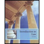 img - for Introduction to Law (custom Text) book / textbook / text book