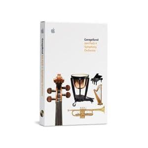 Apple GarageBand Jam Pack Symphony Orchestra (2 dvds)