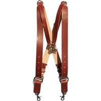 Holdfast Gear Money Maker Three-Camera Harness, Bridle Leather, Large, Chestnut