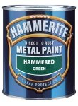 Hammerite Direct to Rust Metal Paint - HAMMERED BLACK