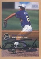 Brian Sanches Wilmington Blue Rocks - Royals Affiliate 2000 Just Autographed Hand... by Hall of Fame Memorabilia