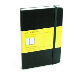 pocket squred rule notebook by Moleskine