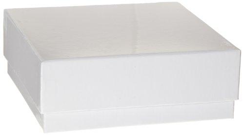 heathrow scientific hd2860b white cardboard cryovial box