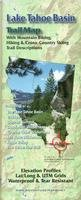 Lake Tahoe Basin Hiking & Biking Trail Map, California