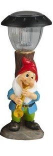 gnome-leaning-next-to-solar-lampost-playing-a-sax