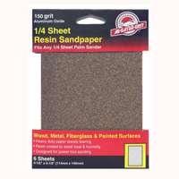 Ali Industries 6Pk 4X5 150G Sandpaper 5031 Sander - Grinder Accessories