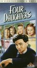 Four Daughters [VHS]