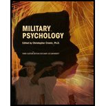 military psychology The society for military psychology (division 19) encourages research and the application of psychological research to military problems military psychologists conduct research, provide mental health services, teach, consult and advise the military.