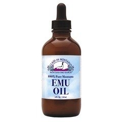 100% Pure Montana Emu Oil Laid In Montana 4 Oz Liquid
