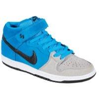 Men'S Nike Dunk Sb Mid Pro Blue Hero Black Wolf Grey 314383 400 Skateboarding (Men Size 9.5, Blue Hero Black Wolf Grey)