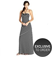 M&S Collection Striped Maxi Dress with Secret Support™