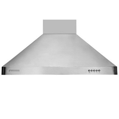 XtremeAir UL02-W30 Wall Mount Range Hood with 900 CFM Baffle Filters/Grease Drain Tunnel, 30