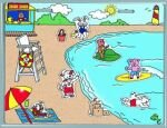 Magnetic Create A Scene Playset - Beach