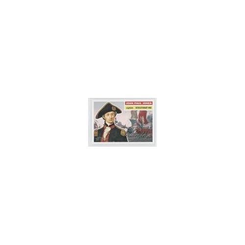 John Paul Jones (Trading Card) 2009 Topps American Heritage #21