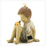 Making Friends Solar Lighted Garden Statue