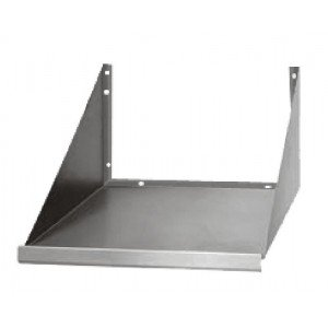 "Stainless Steel Microwave Oven Wall Shelf 18""X18"""
