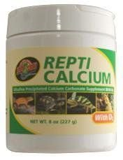 Reptile Calcium with Vitamin D3, 8-Ounce