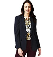 M&S Collection Notch Lapel Tailored Jacket
