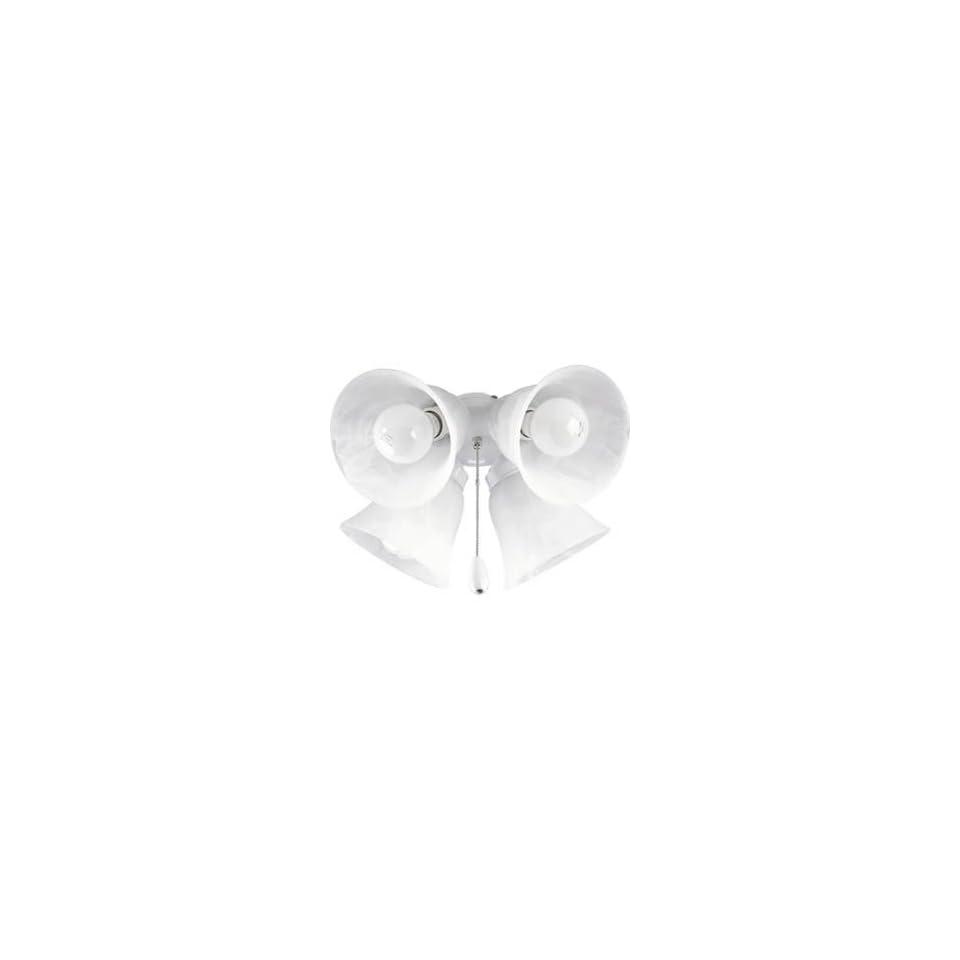 Air Pro Transitional White Ceiling Fan Lighting Kit Progress Lighting P2610 30