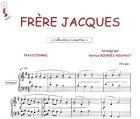 echange, troc Traditionnel - Partition : Frère Jacques - Piano et paroles