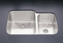 Franke OSX120-31 Opus Undermount Double Bowl Kitchen Sink Stainless Steel
