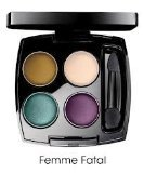 Avon True Color Eyeshadow Quad Femme Fatale with Mirror