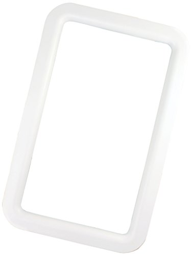 JR Products 11011 White RV Deluxe Entry Door Window Frame (Rv Door Window compare prices)