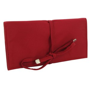 Totes Jewelry Portfolio Travel Case (Red)