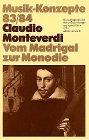 Claudio Monteverdi. Vom Madrigal zur...