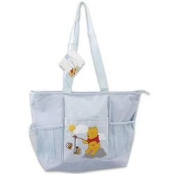 "Disney Baby Pooh ""Hunny"" Large Diaper Bag - 1"