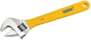 Draper DIY Series 09274 300 mm Soft-Grip Adjustable Wrench
