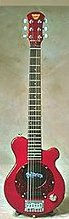 Pignose Pgg-200 Deluxe Electric Guitar With Built-In Amp (Red)