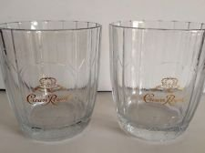crown-royal-seagrams-etched-round-bar-glasses-set-of-2-logo-gold-etched-in-center-vonpok-sticker-on-