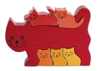Picture of Fun Imagiplay Cat Family Puzzle (12476) (B000JT7NL6) (3D Puzzles)