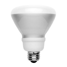 Tcp 4R4016Td35K Cfl Trudim R40 - 75 Watt Equivalent (16W) Bright White (3500K) Dimmable Flood Light Bulb