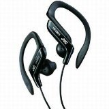 JVC HAEB75B Sports Clip Headphone (Black)