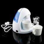 2 Cup Steam Drip Coffee Maker (White)