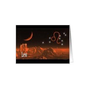 Amazon.com: Zodiac Birthday - leo Card: Health & Person