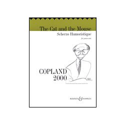 Boosey & Hawkes Copland The Cat and the Mouse Scherzo Humoristique (Piano)