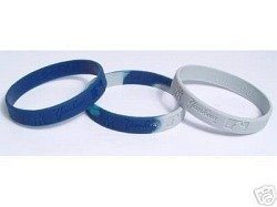MLB New York Yankees 3 Pack Rubber Wristbands